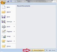 Cách bật tắt kiểm tra sửa lỗi chính tả trong word 2010