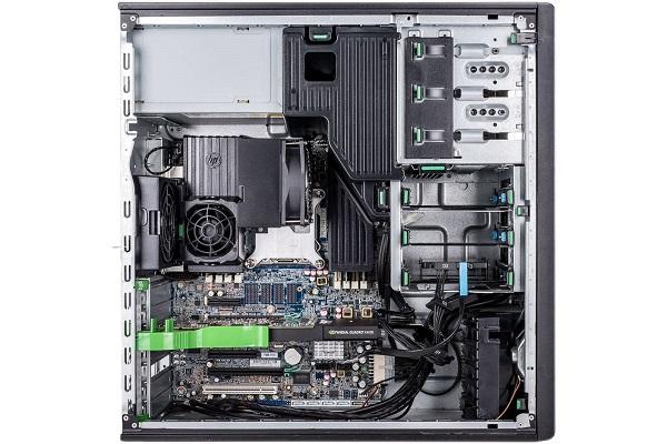 HP Workstation Z420 được hỗ trợ 8 khe cắm DIMM trên 4 kênh bộ nhớ