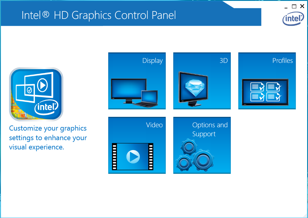 Card Intel HD Graphics