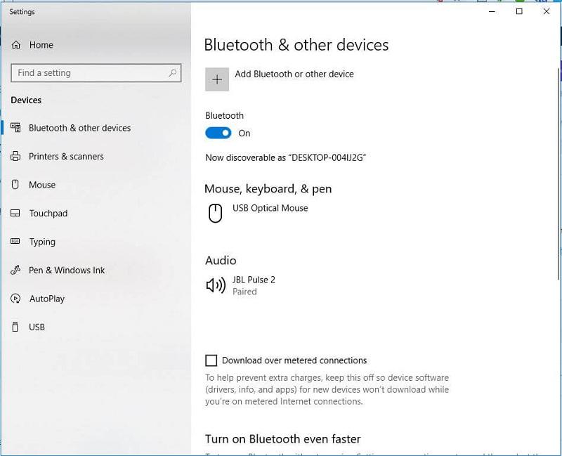 Cách cài đặt bluetooth cho laptop win 10